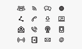 Communications Icon Stock Images