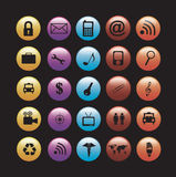 Communications icons Stock Photos