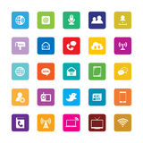 Communications Icons Royalty Free Stock Photo