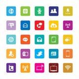 Communications Icons stock illustration