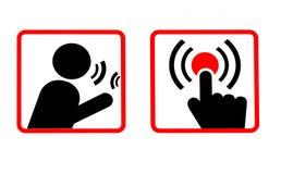 Communications Icons Stock Photo