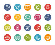 Communications Icons -- Printemps Series Stock Photography