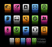 Communications Icons  Royalty Free Stock Image