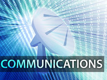 Communications illustration Stock Images