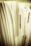 Communications Manual Royalty Free Stock Photos