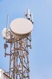 Communications mast Royalty Free Stock Photo