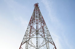 Communications Mast Royalty Free Stock Photos