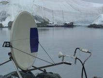 communications par satellites Photos libres de droits