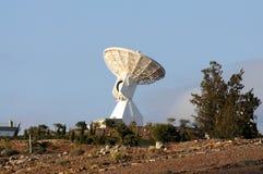 Communications satellite dish Royalty Free Stock Photography