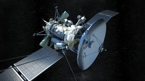Communications satellite Royalty Free Stock Photos