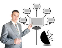 Communications server Royalty Free Stock Images