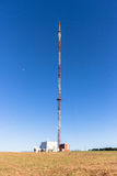 Communications Signal Tower Hilltop Royalty Free Stock Photos