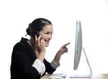 Communications technology Stock Image