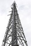 Communications Tower 2. A communications tower in Warrensburg Missouri Stock Images