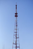 Communications tower against sky Stock Photo