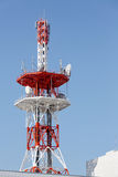 Communications tower antenna Stock Photography