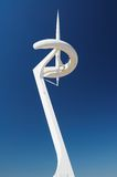 Communications tower in Barcelona Stock Photography