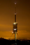 Communications tower of Collserola (Barcelona) Royalty Free Stock Images