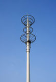 The communications tower. The 3G communication signal relay towers Royalty Free Stock Photo