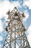 Communications tower HDR Stock Photography