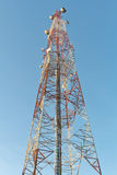 Communications tower signal. Stock Images