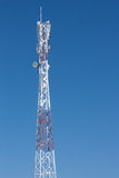Communications tower. use a smart phone. Website, printing decorating etc Stock Image