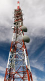 Communications towers Royalty Free Stock Photo