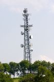 Communications Utility Tower royalty free stock photo