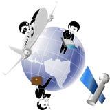 Land und Geschäft Lizenzfreie Stockfotos