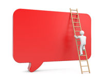 Communicaton metaphor Royalty Free Stock Photo