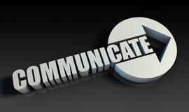 Communiceer vector illustratie