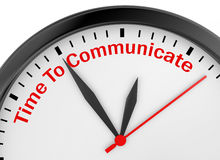 communiceer stock illustratie