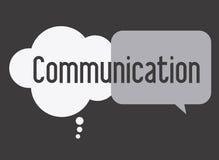Communiceer, het desing, illusttration royalty-vrije illustratie