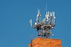 Communikation tower Stock Photos