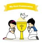 communion vector illustratie