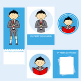Communion boy Royalty Free Stock Images