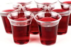 Communion cups Royalty Free Stock Photos