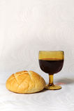 Communion Elements Royalty Free Stock Photography