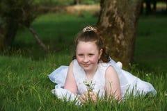 Communion Girl Stock Photos