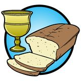 Communion Icon Stock Photo