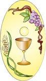 communion najpierw ilustracja wektor