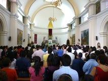 communion najpierw gromadzi Fotografia Royalty Free
