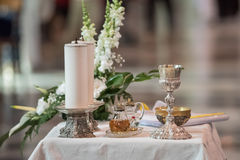 Communion Offertory Royalty Free Stock Photography