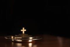 Communion sainte image stock