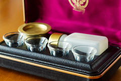Communion set Royalty Free Stock Images