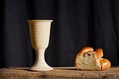 Communion sous les deux sortes ; communion Photo stock