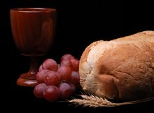 Communion Still Life Stock Image