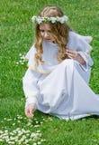communion stokrotki pierwszy Zdjęcie Royalty Free