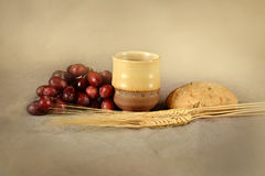 Communion Table Royalty Free Stock Photography