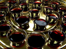 Communion Tray Royalty Free Stock Photos